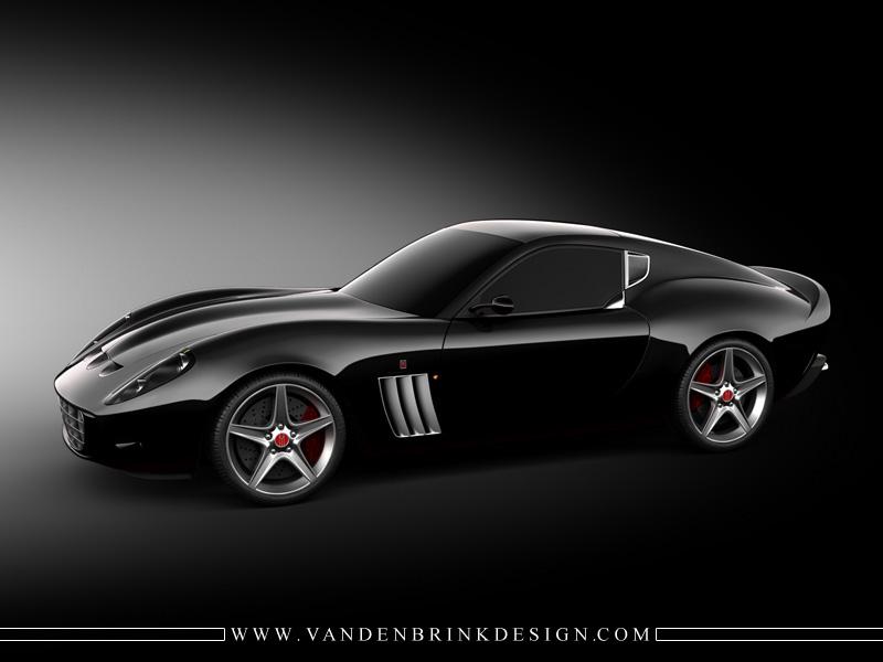 Vandenbrink ferrari 599 gto rear angle 1920x1440 super car wallpapers